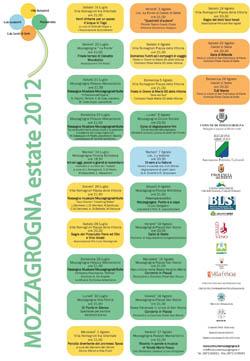 Calendario Estate 2012