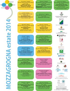 Estate 2014 Manifesto